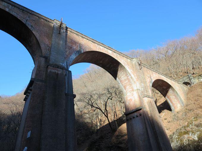 200万個以上の煉瓦で作った!アプト式鉄道を支えた美しいアーチ「めがね橋」