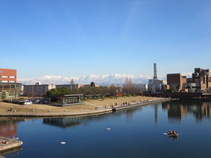 富岩運河環水公園。