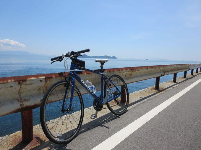 ひたすら海沿いを走る!とびしま海道サイクリング
