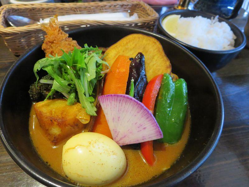 ライスにレモンは付けますか?札幌・奥芝商店とsuage+でスープカレーを食べよう!