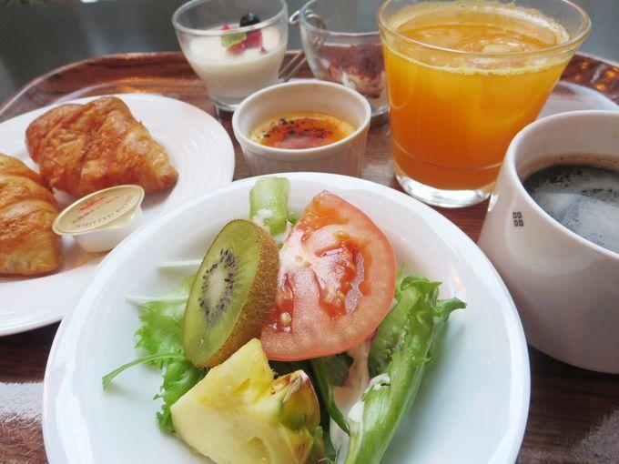 大満足な朝食バイキング!