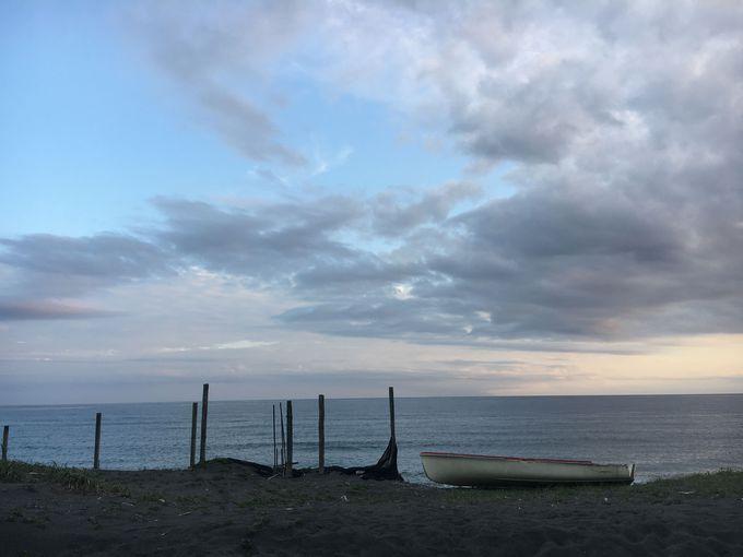 茅ヶ崎の海でサザンの気分に浸る