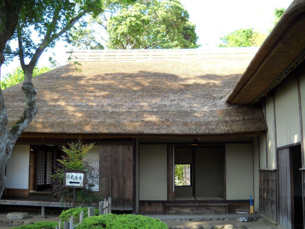 典型的な佐倉の武家屋敷