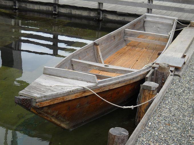 浦安を代表する船「べか舟」