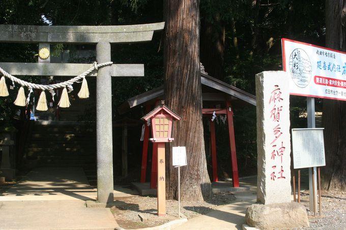 近隣の麻賀多十八社の本宮「麻賀多神社」
