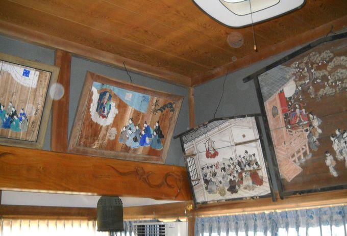 印西市指定文化財の大絵馬