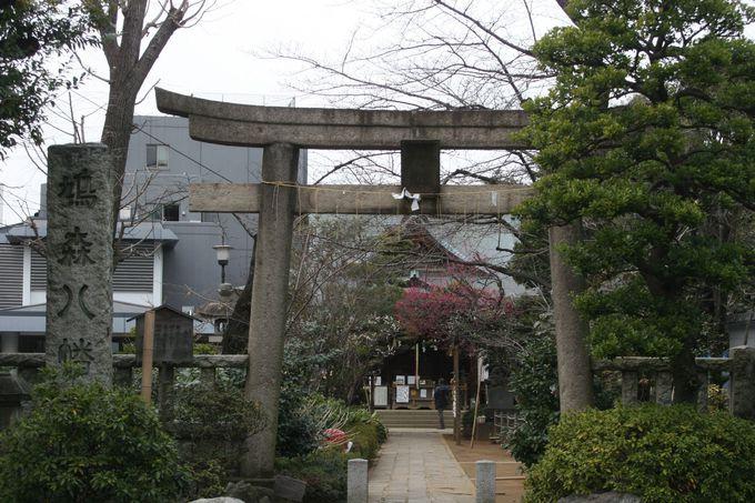 千駄ヶ谷にある「鳩森八幡神社」