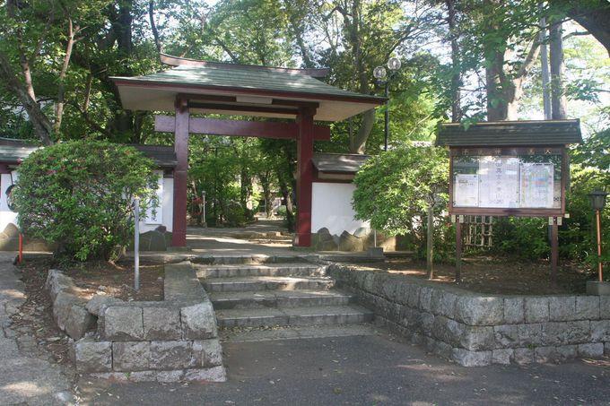 子之神大黒天延寿院の山門(屋根付きのめずらしい鳥居)