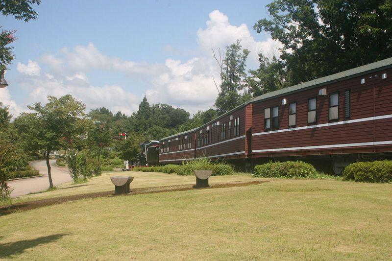 SL客車で宿泊できる!富山・滑川「東福寺野自然公園」