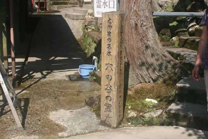 「全国名水百選(環境省)」に選ばれている。
