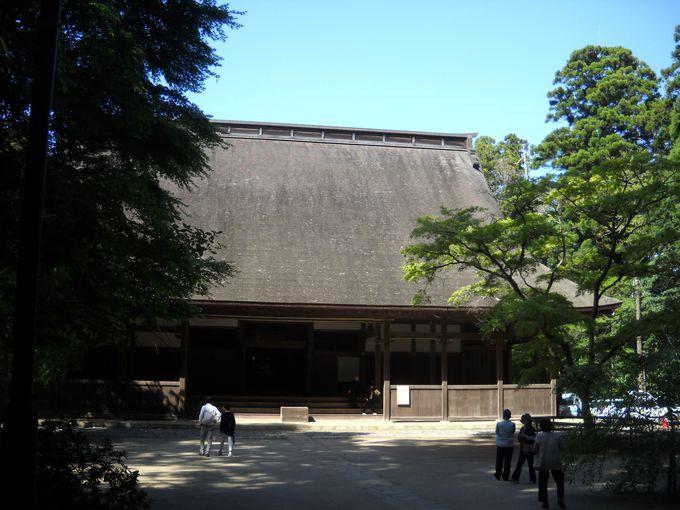 檀林の中心「講堂」も国指定重要文化財