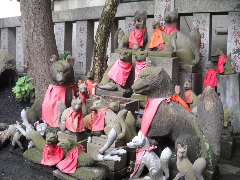 狐パワー伝授!東京・日本橋の「別社・笠間稲荷神社」