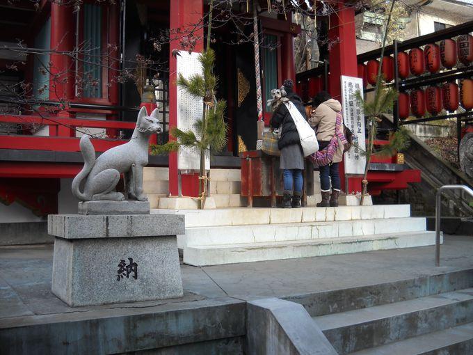 旅行の安全もお護りくださる!摂社「茶木稲荷神社」
