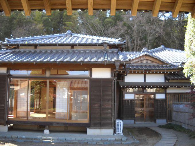 復元された「旧小川家」は、町民交流の場にもなっている