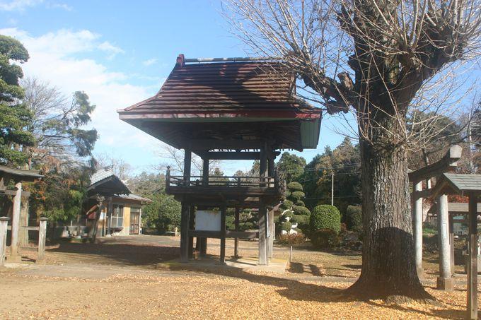 梵鐘の失われた鐘楼