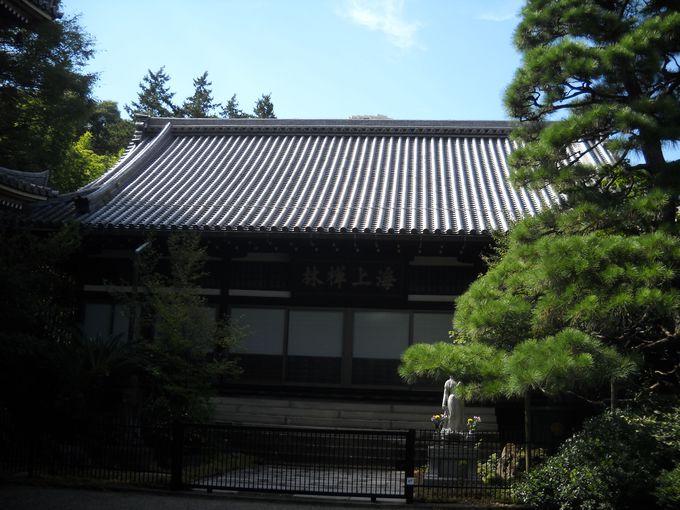 「東禅寺」は「海上禅林」と呼ばれていた。