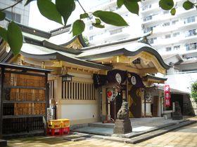 311歳の狛犬さんがお出迎え!東京・港区・高輪神社