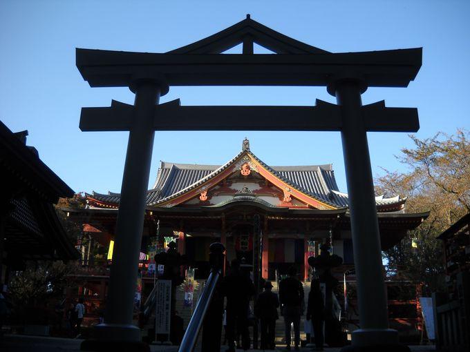 """龍泉寺は通称""""目黒不動""""と呼ばれている"""