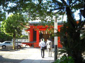 アニメ「セーラームーン」火川神社のモデル!東京「麻布氷川神社」