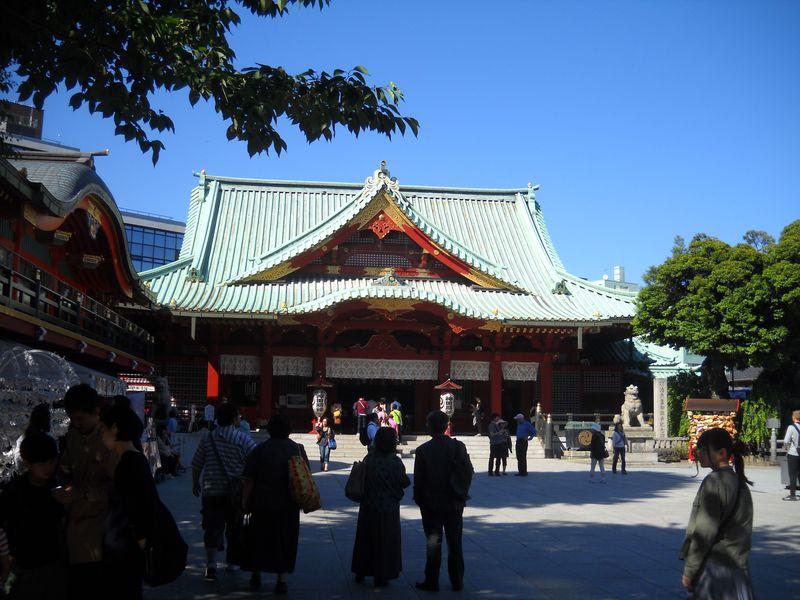 勝運!金運!あわせて祈願!東京千代田区「神田神社」