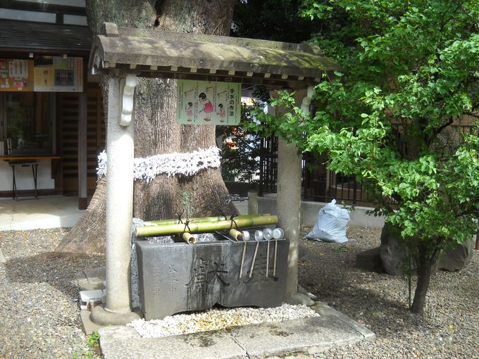 上目黒氷川神社は縄文人が生活していた地に鎮座