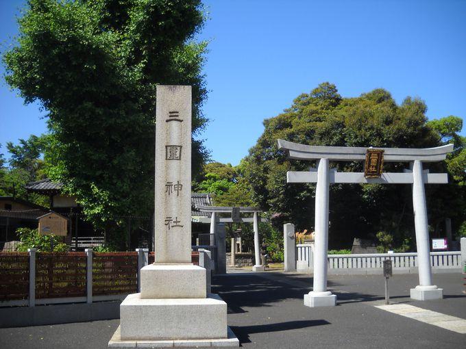 三囲神社の御祭神は「穀物の神様」