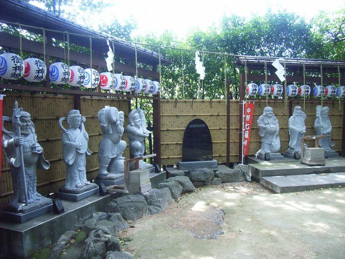 「力石」と「中野七福神」