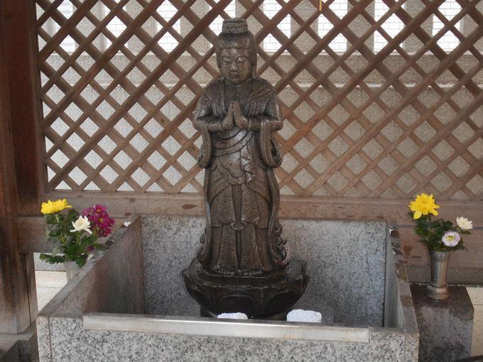 境内には「浄行菩薩さま」が、お祀りされている
