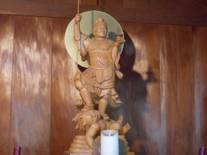 仏教の守護神・財宝を授ける「毘沙門天」