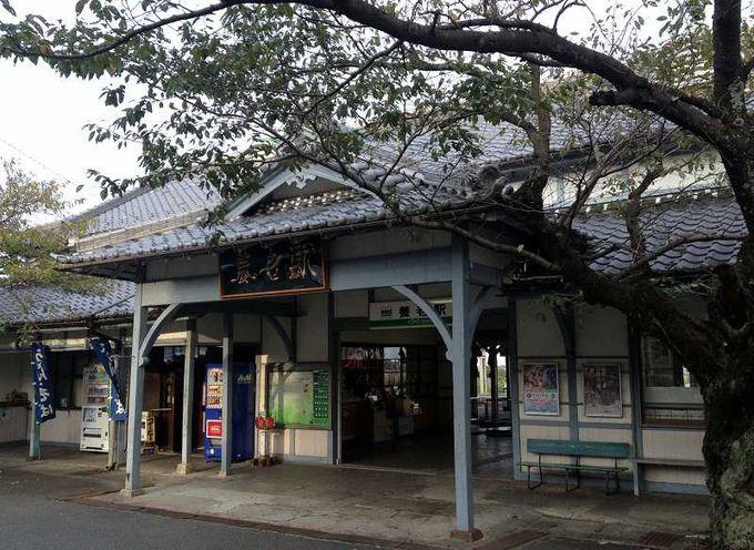 養老駅は昭和にタイムトリップしたかのよう