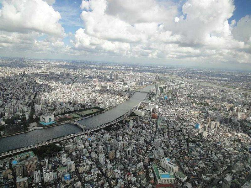 自転車で東京スカイツリーを目指してみたら、色んな風景に出会えました