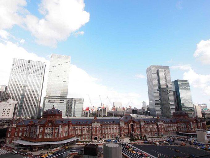 東京駅を上から眺めてみよう