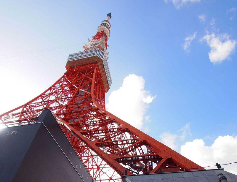 地上150m600段!!自分の足で登る東京タワー
