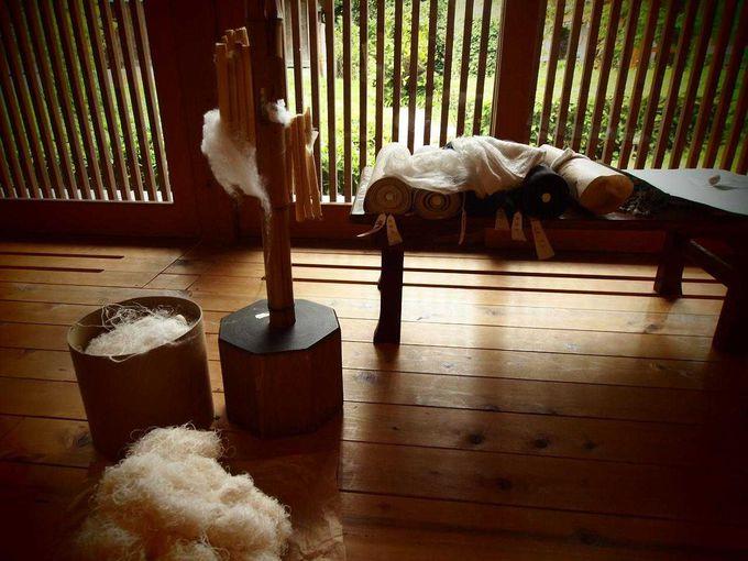 ユネスコが認めた結城紬の伝統工法