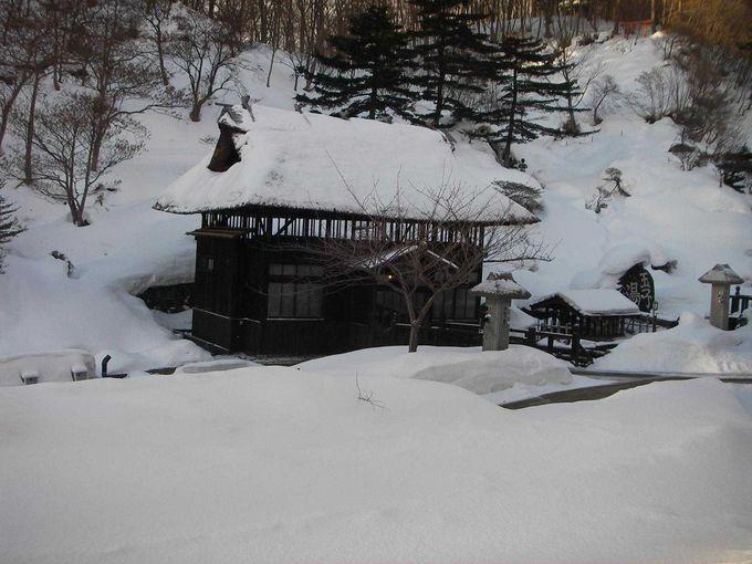 これからの季節は、心も体もあったかな雪見風呂