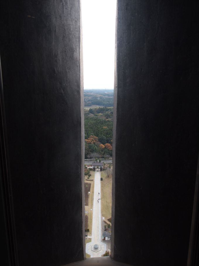 展望台からは東西南北を見渡せます