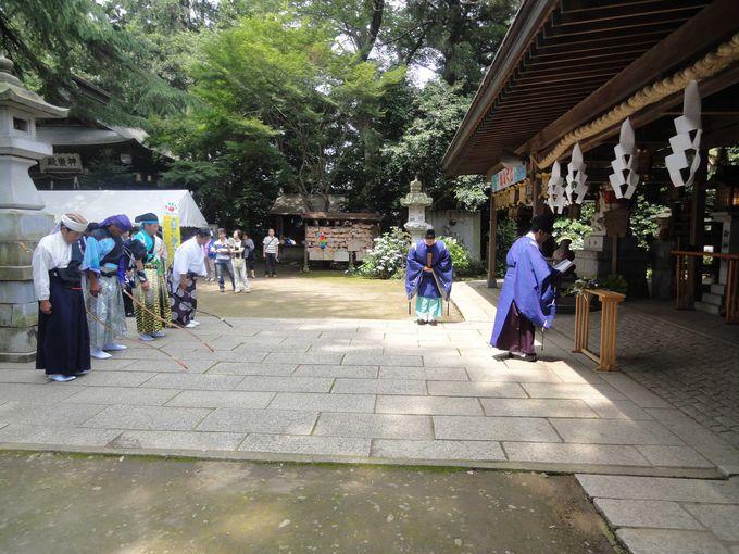 関東最古の八幡宮