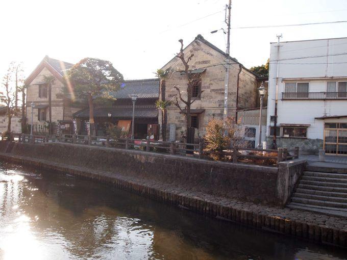 この川は、江戸へ通ず