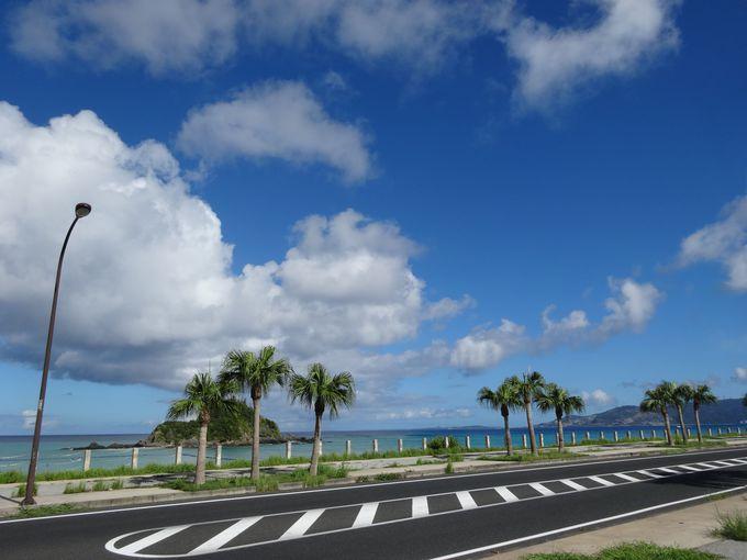 ベスト5:リゾート気分満点の西海岸「国道58号線」