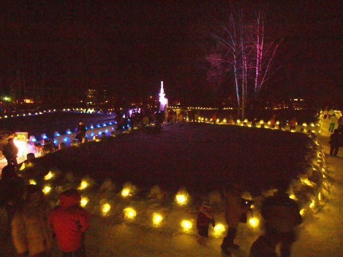 奥日光の銀世界を彩る「雪」と「光」のイベント「奥日光湯元温泉雪まつり」
