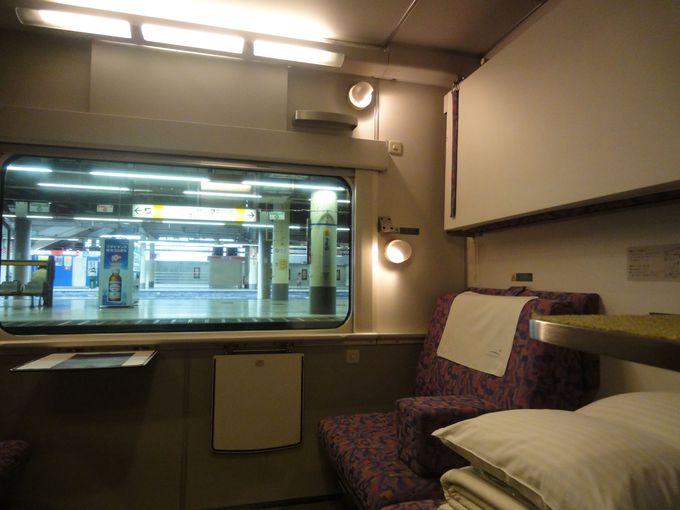 全室A個室の快適空間で優雅な旅を