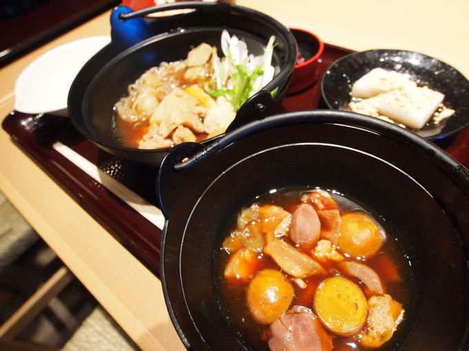 お食事も江戸時代へタイムスリップ 鬼平が愛した五鉄の軍鶏鍋