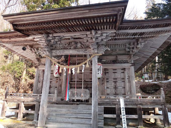 丹内山神社を彩る七不思議