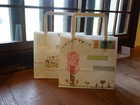 倉敷「如竹堂」の可愛いぃ体験♪300種マステでデコ紙袋作り