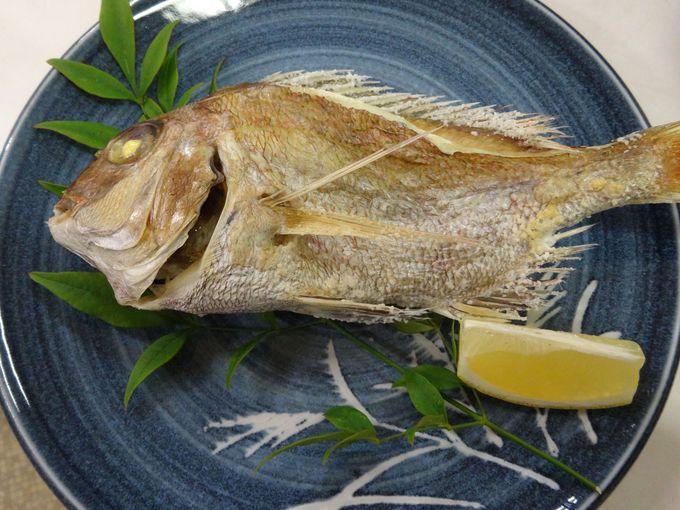 夕食はお魚たっぷり島ごはん♪