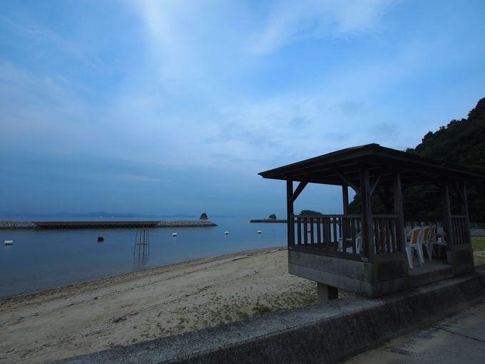 徒歩10秒で砂浜!!瀬戸内海の穏やかな風景が目の前!!