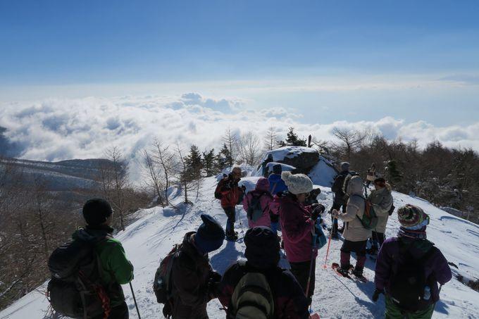 宿泊者限定スノーシューツアーは参加すべし!!