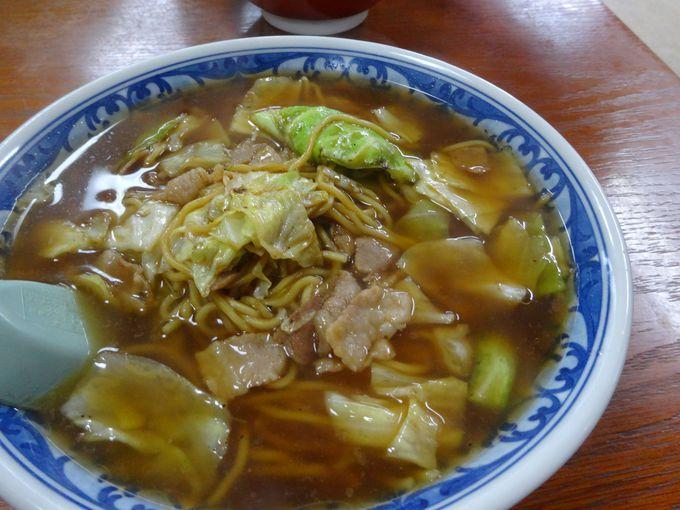 実は栃木県を代表するご当地麺!塩原名物「スープ焼きそば」