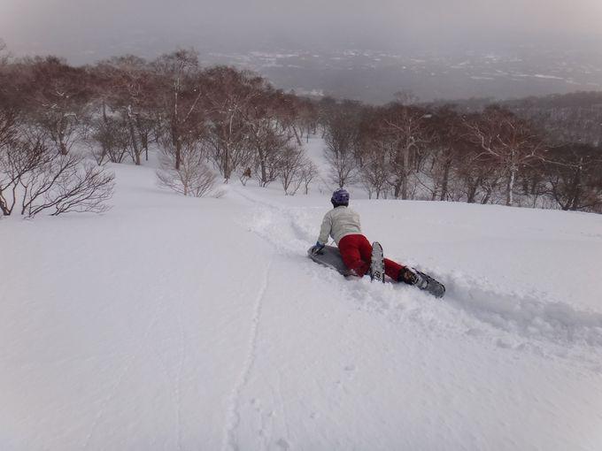 激走!!雪山のジェットコースター