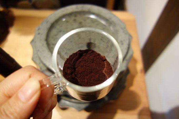 コーヒーは挽きたてが一番!!